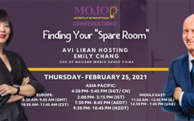 """MOJO Conversation Session: """"Finding Your Spare Room"""""""