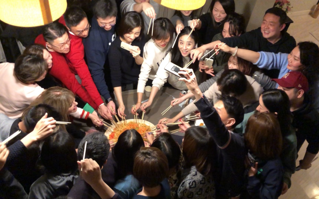 A wonderful Chinese New Year tradition!