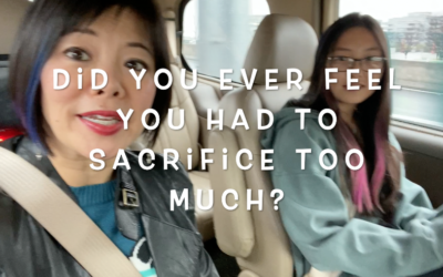 Has my daughter sacrificed too much?