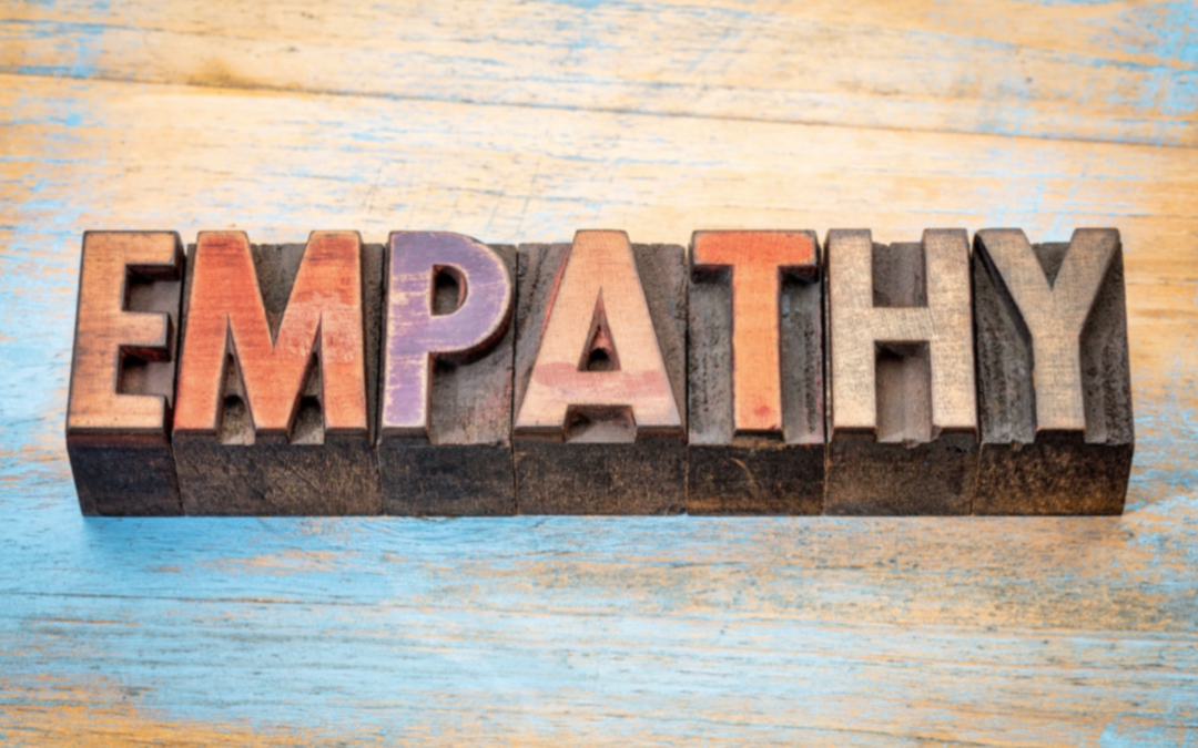 Empathy requires intentionality.